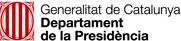 Departament de la Presidència Generalitat de Catalunya